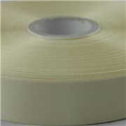 Cream  Single Faced Satin Ribbon 48mm Wide