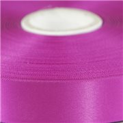 Magenta Single Faced Satin Ribbon 48mm Wide