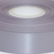 Pewter Grey Single Faced Satin Ribbon 48mm Wide