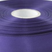 Purple Single Faced Satin Ribbon 48mm Wide