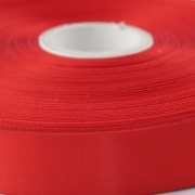 Red  Single Faced Satin Ribbon 48mm Wide