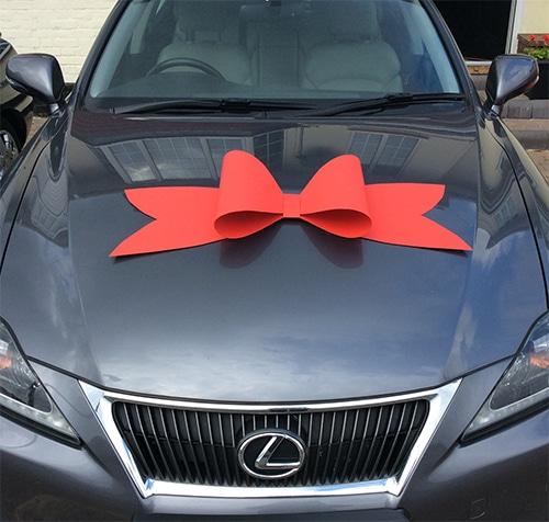 Budget Car Bow