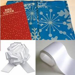 Bike Cover Bow and Ribbon