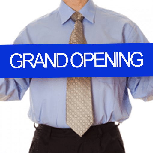Grand-Opening-Printed-Custom-Ribbon-4-inch-wide-Royal Blue