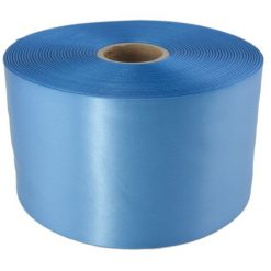 Cornflower Blue 100mm wide Satin Ribbon, 5 metres long