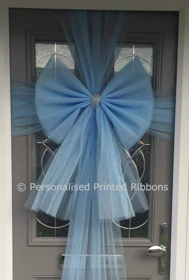 Baby Blue Door Bow & Buy Baby Blue Door Bow - Order Now - Next Day Delivery pezcame.com
