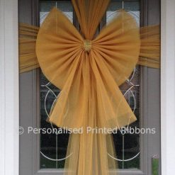 Gold Door Bow