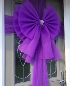 Big Purple Bows