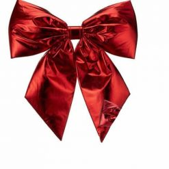 Red Lamé Bow
