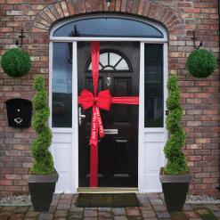 Personalised-Satin-Door-Bows