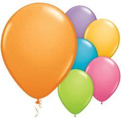 Assorted Festival Latex Balloons
