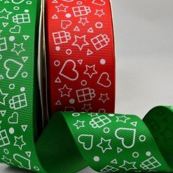 Star & Presents Grosgrain Ribbon