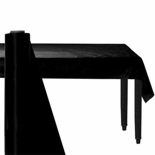 Black Plastic Banqueting Roll