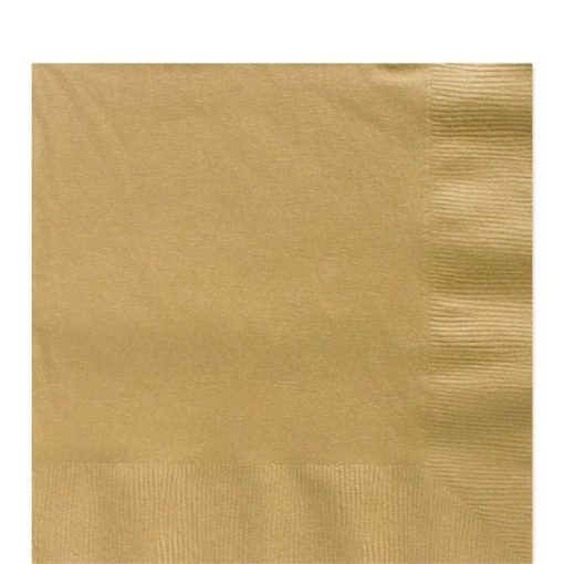 Gold Luncheon Napkins