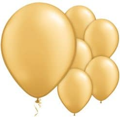 Gold Metallic Balloons