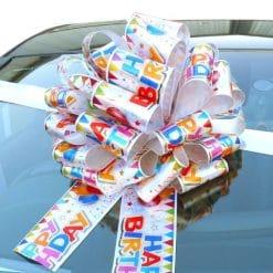 MEGA Happy Birthday Giant Car Bow