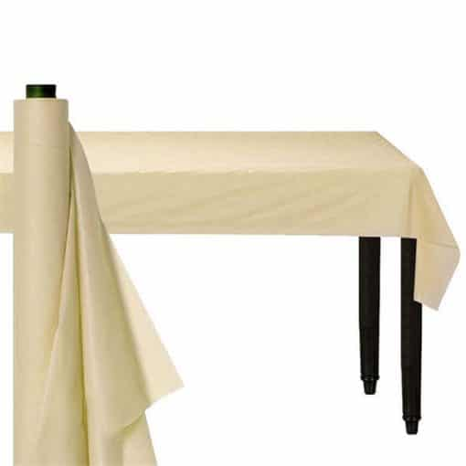 Ivory Plastic Banqueting Roll