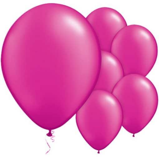 Magenta Pink Pearl Balloons