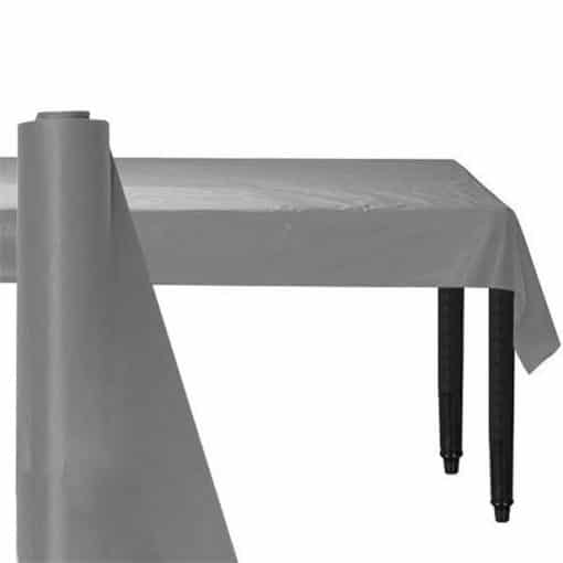 Silver Plastic Banqueting Roll