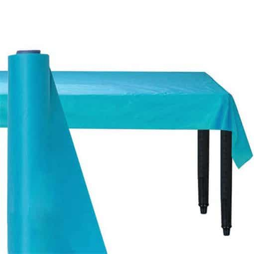 Turquoise Plastic Banqueting Roll