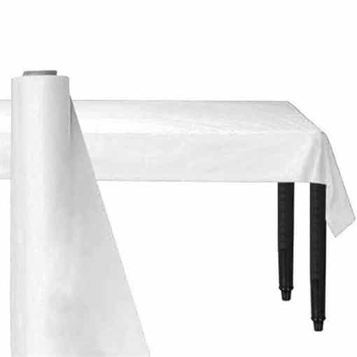 White Plastic Banqueting Roll