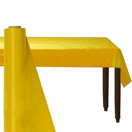 Yellow Plastic Banqueting Roll