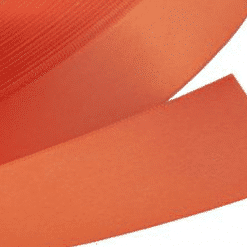 Orange Satin 48mm Wide Ribbon