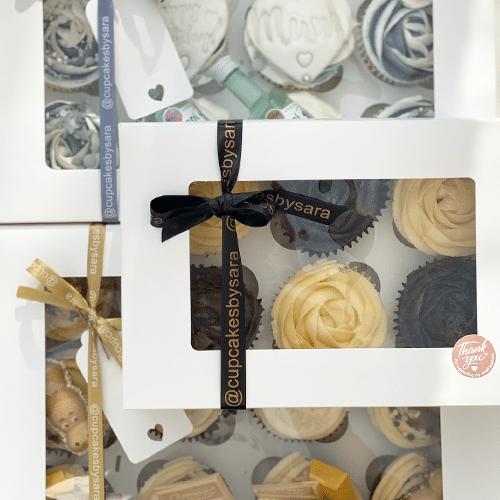 Printed Ribbon for Hampers, Cupcake Boxes, Afternoon teas & More Custom Printed Personalised Ribbons Essex